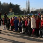 Pavoisement de l'école primaire de Chailly