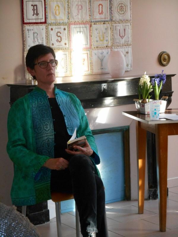 Visite d'Anne Trémolières le 2 février 2016