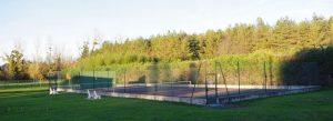 Cours de tennis à Chailly