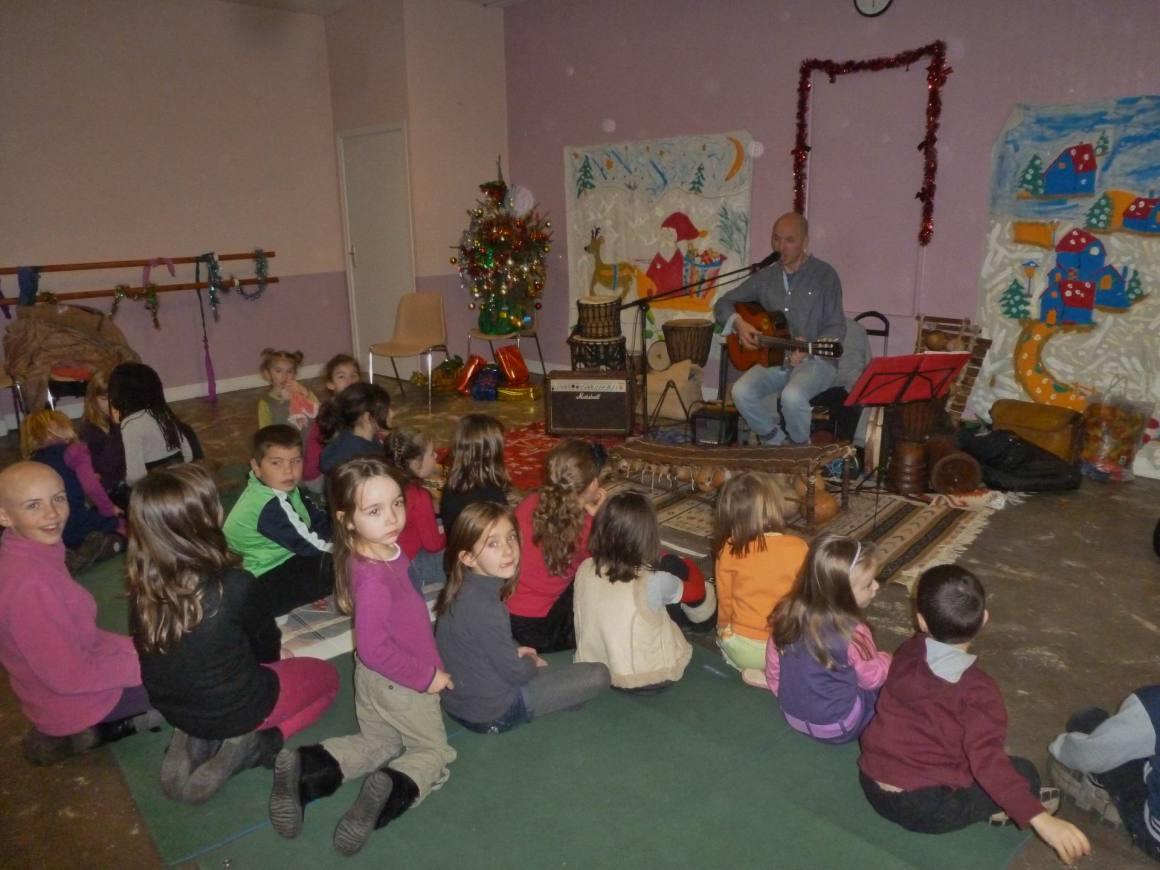 Noël en fête à Chailly avec la municipalité et le foyer des jeunes