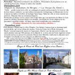 Escapade Côte d'Opale – Bruges avril 2017