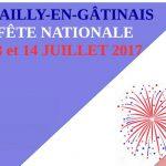 Festivités des 13 et 14 juillet 2017