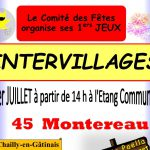 Jeux intervillages Montereau