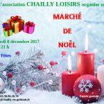 Marché de Noël de Chailly vendredi 8 décembre